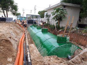 Quy trình xử lý nước thải sinh hoạt ngầm