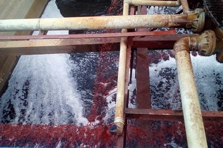 nước thải dệt nhuộm được xử lý theo phương pháp hóa sinh